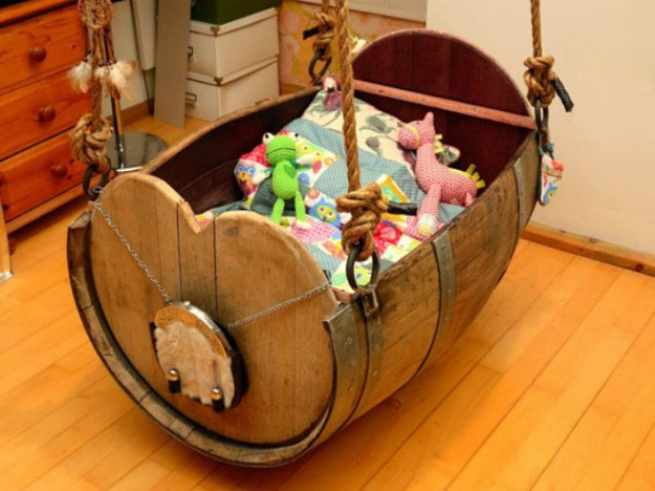 barrel-baby-cradle