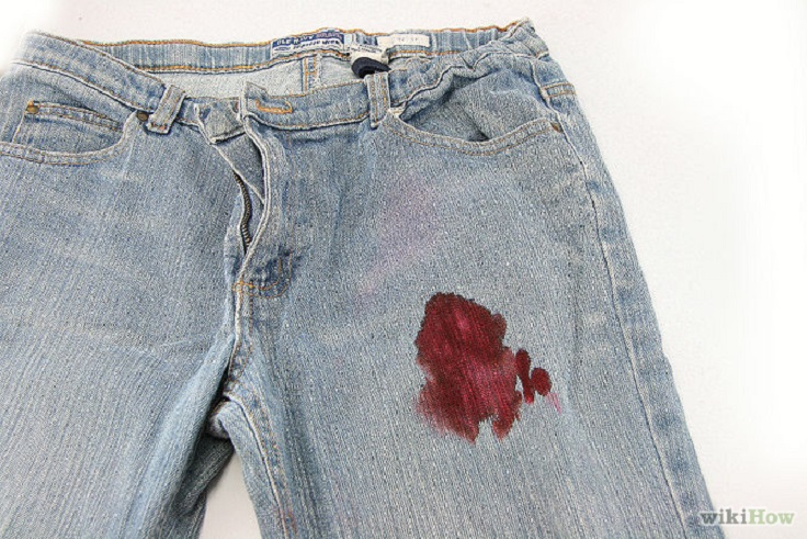 blood-stains