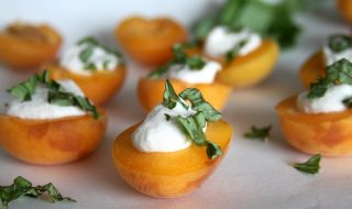cream-stuffed-apricots