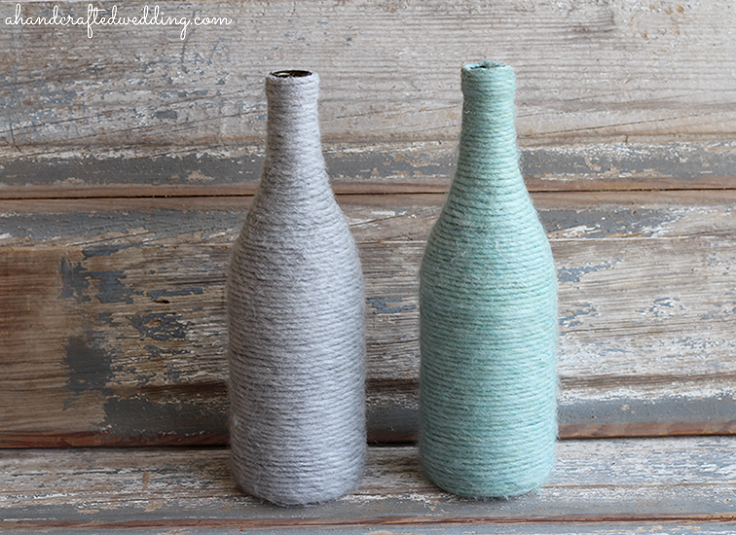 diy-yarn-bottle-vases