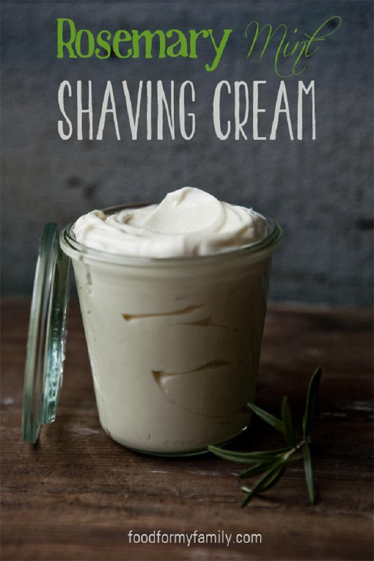 homemade-rosemary-mint-shaving-cream