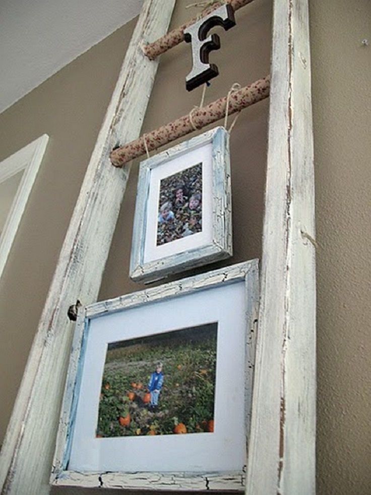 Top 10 Ways To Use Your Rustic Ladder When Decorating