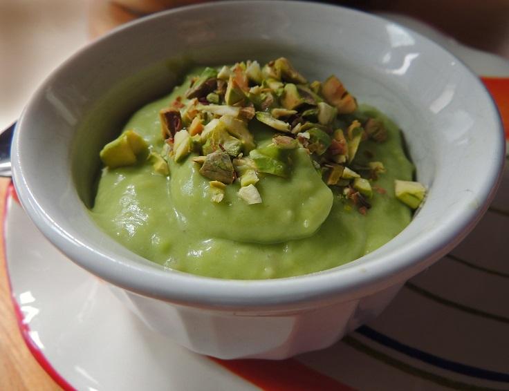 pistachio-avocado-pudding