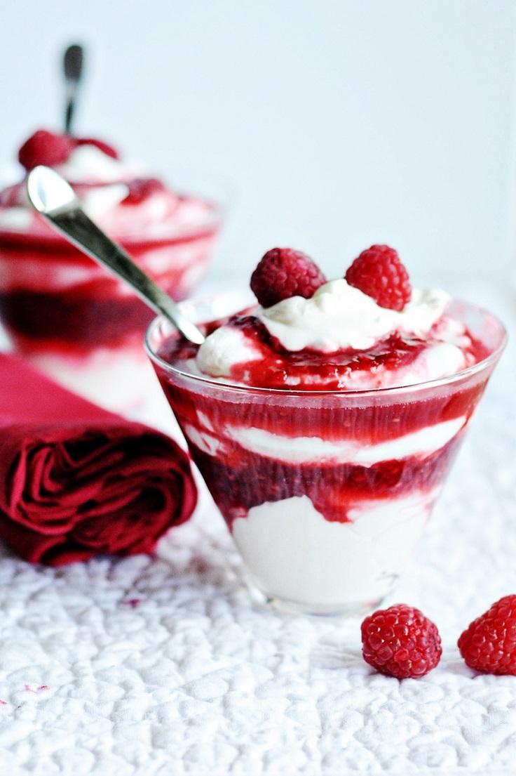 raspberry-parfait