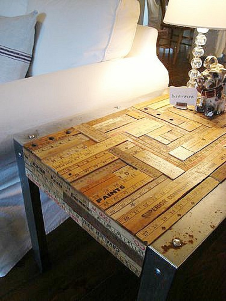 Top 10 most creative upcycling ideas top inspired for Creative table tops