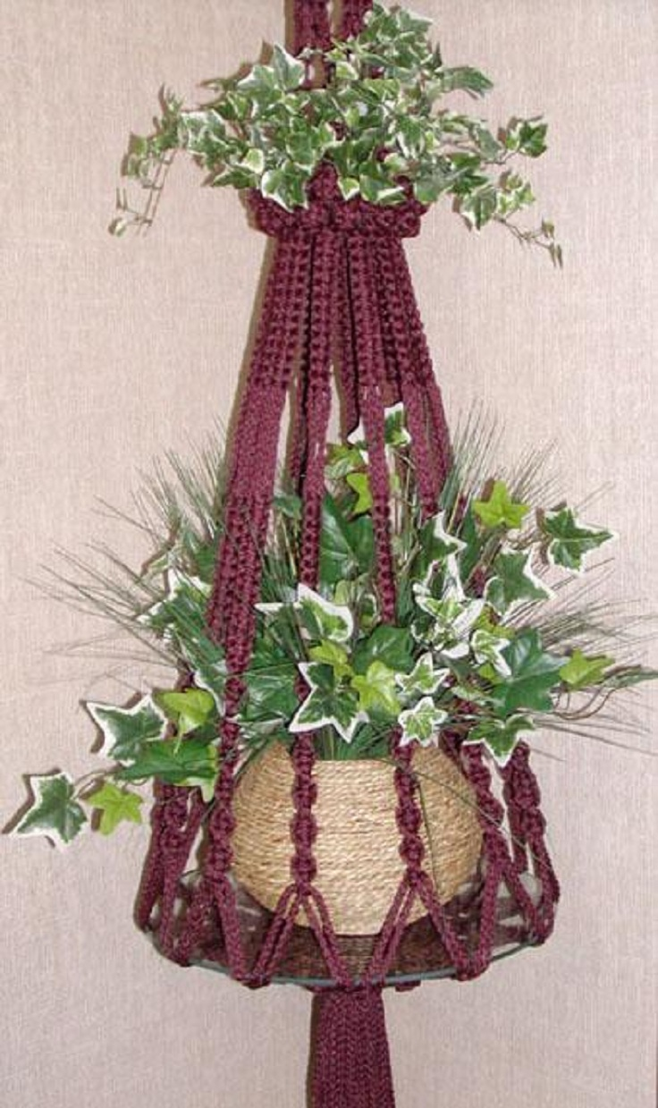 macrame plant hanger pattern free top 10 fancy ideas for macrame hanging planter top inspired 4678