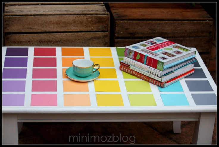 Top 10 Things to do With Paint Chip Samples