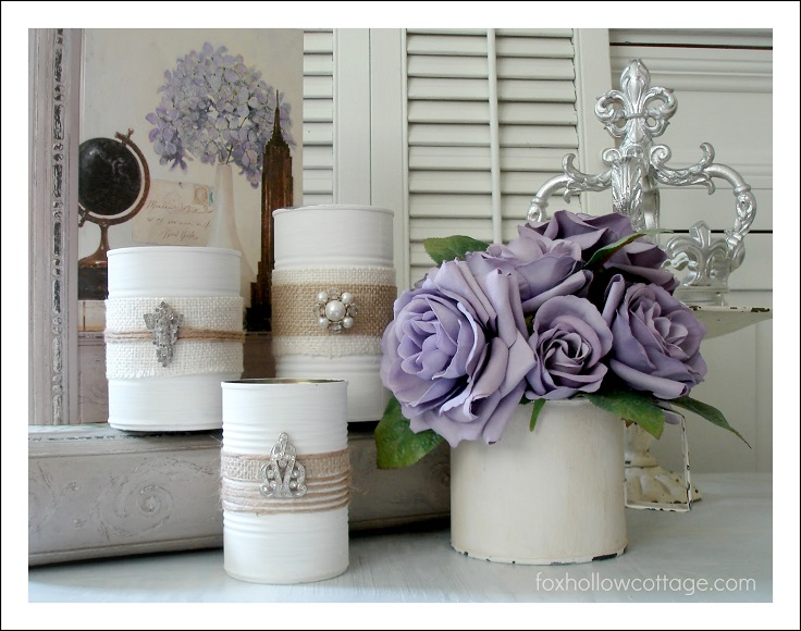 3-No-Cost-DIY-Home-Décor-Vintage-Chic-Storage-Cans-Containers