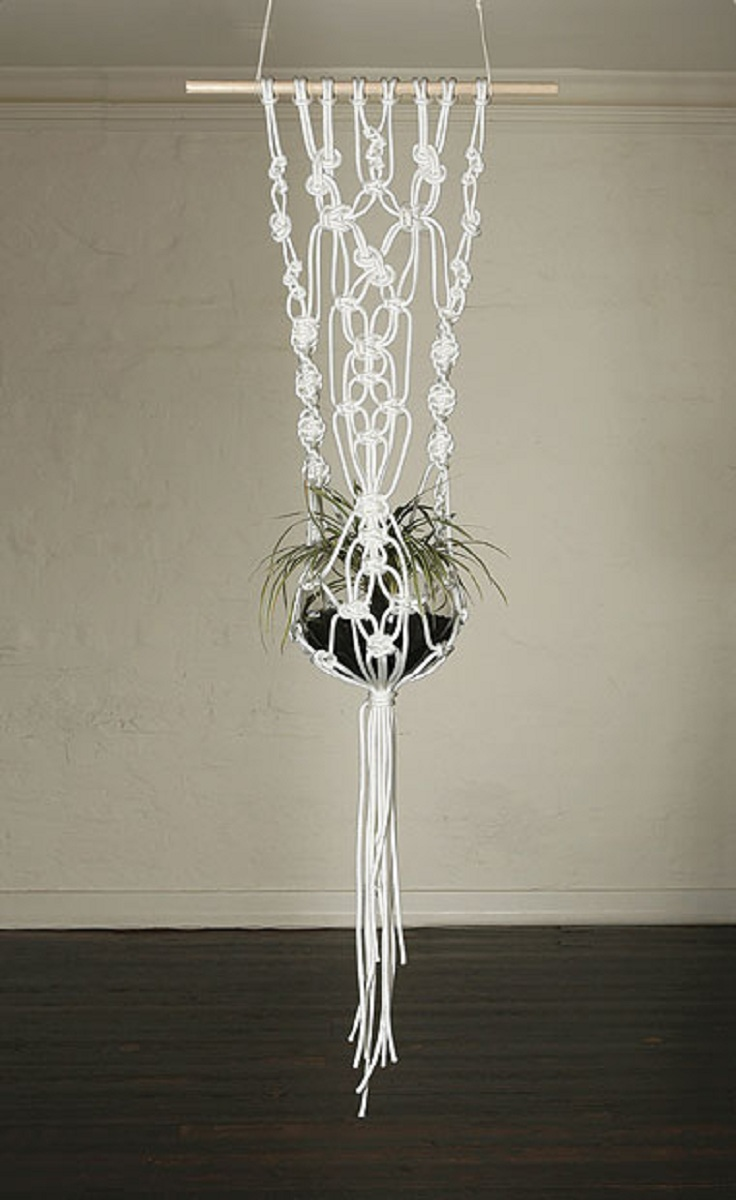 how to make a macrame plant holder top 10 fancy ideas for macrame hanging planter top inspired 803