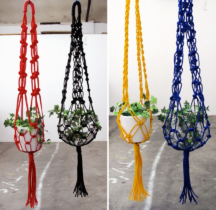 how to make a macrame plant holder top 10 fancy ideas for macrame hanging planter top inspired 5920