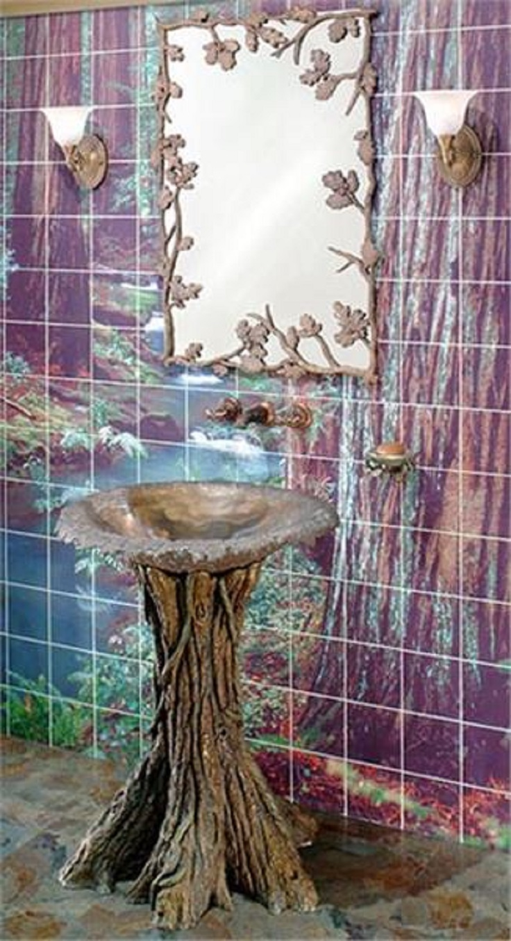 4-Fairy-tale-bathroom-sink-design