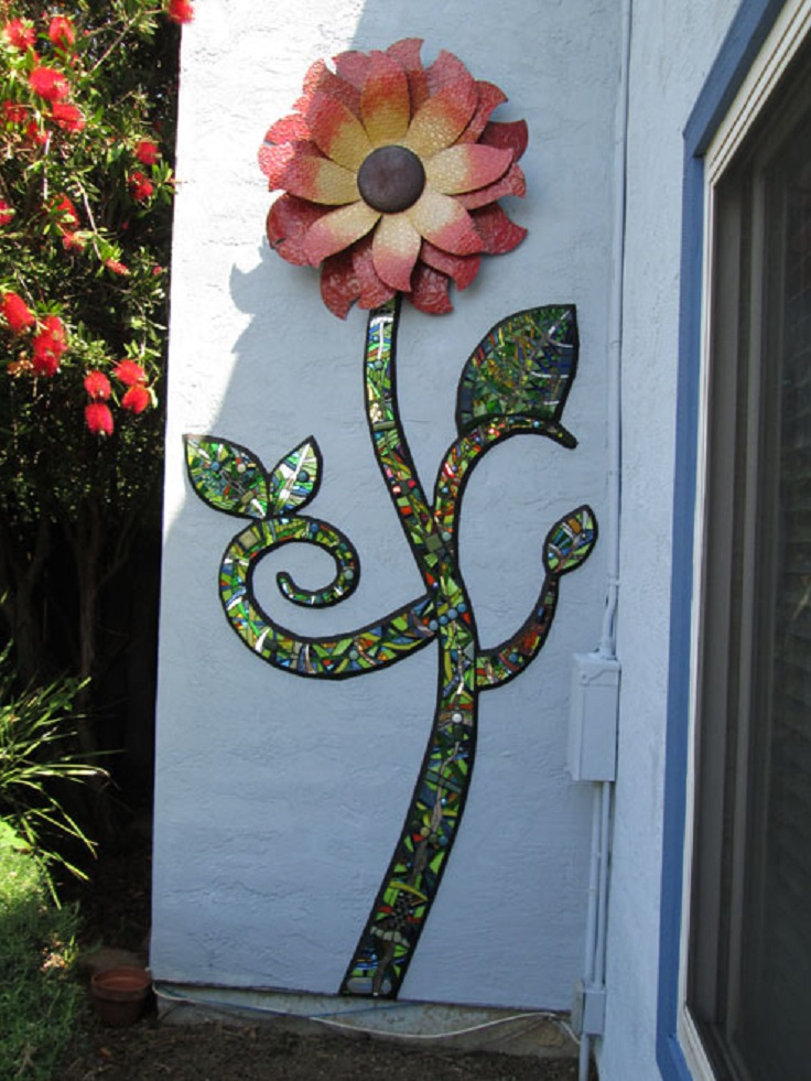 4-Mosaic-garden-art
