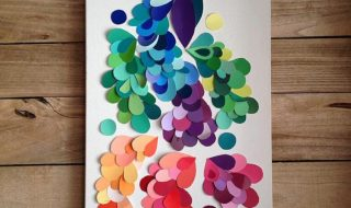 Top 10 Things to do With Paint Chip Samples | Top Inspired
