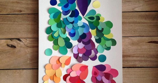 Image Result For Crafts You Can Make With Paint Samples