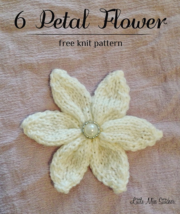 Flower Knitting Patterns Free : TOP 10 Free Flower Patterns to Knit This Spring - Top Inspired