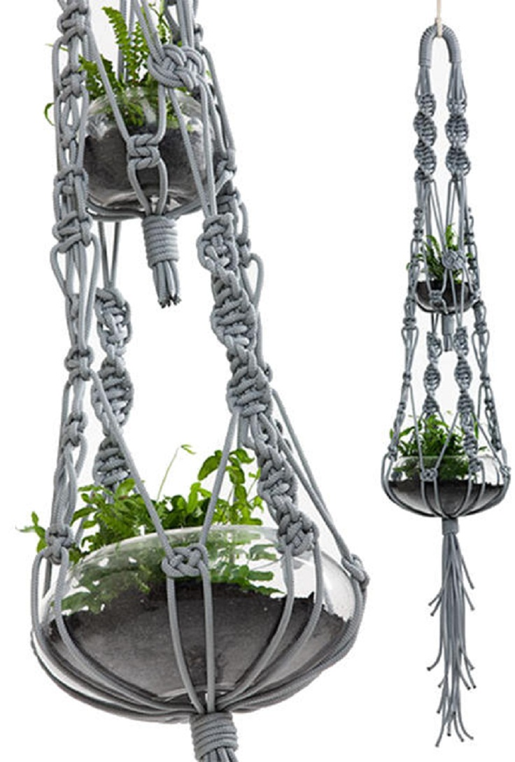 macrame plant hanger pattern top 10 fancy ideas for macrame hanging planter top inspired 7828