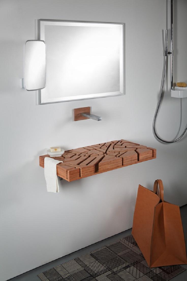 8-Wooden-Maze-Bathroom-Sink-Design