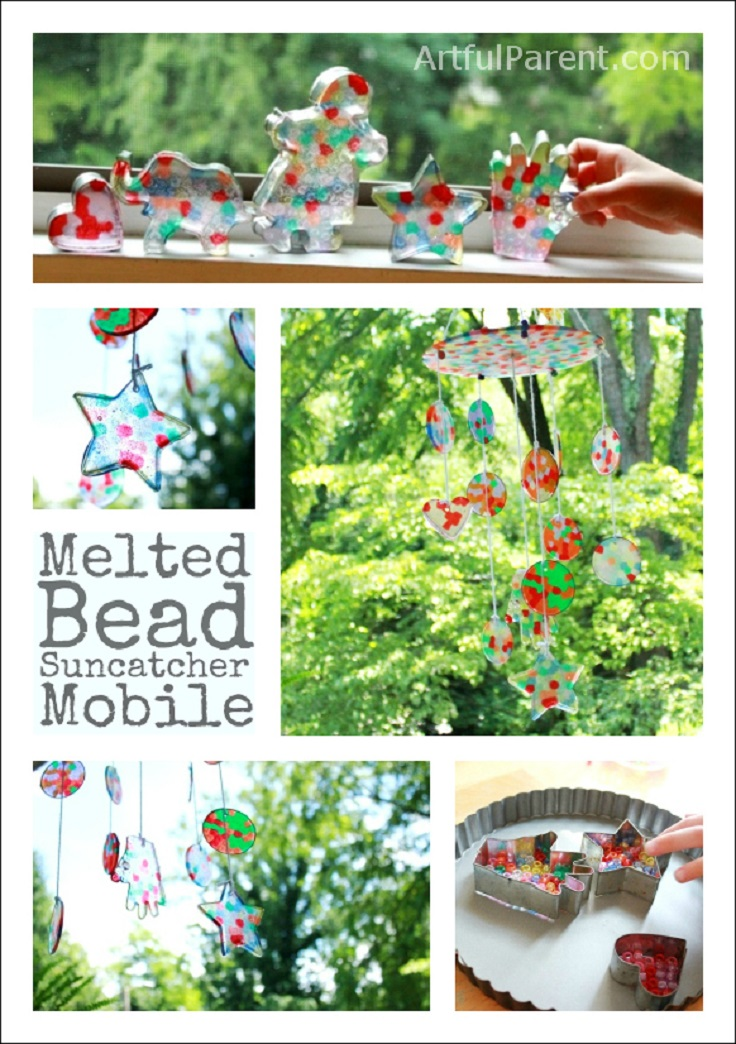 A-Mobile-from-Melted-Plastic-Bead-Suncatchers