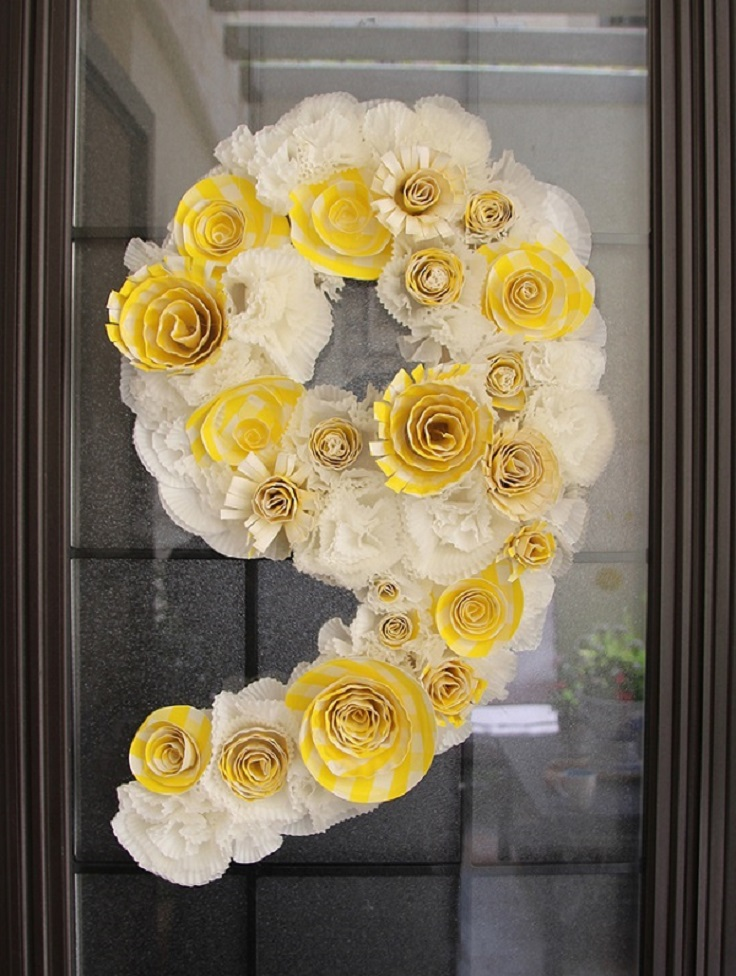 Birthday-Wreath-From-Cupcake-Liners-Paper-Plate-Flowers