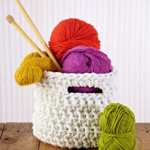 TOP 10 Free Crocheted Baskets & Bowls Patterns | Top Inspired