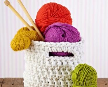 Chunky-crochet-storage-tubs