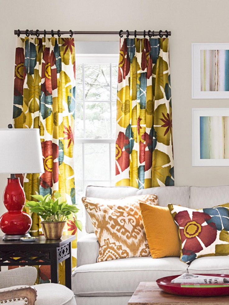 Top 10 Ways To Add Color To Your Living Room This Spring