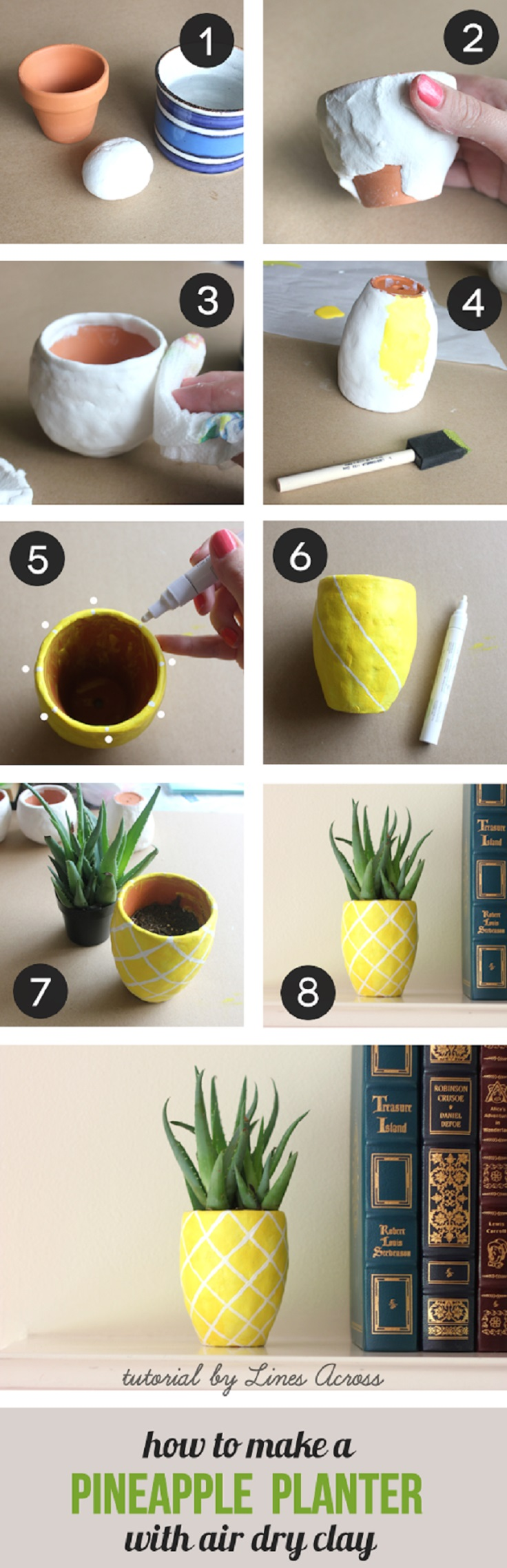 DIY-Succulent-Pineapple-Planter