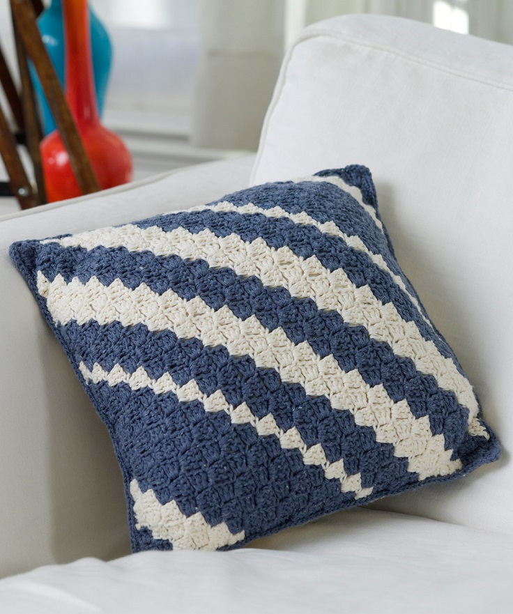 Crochet Pillows Easy Patterns