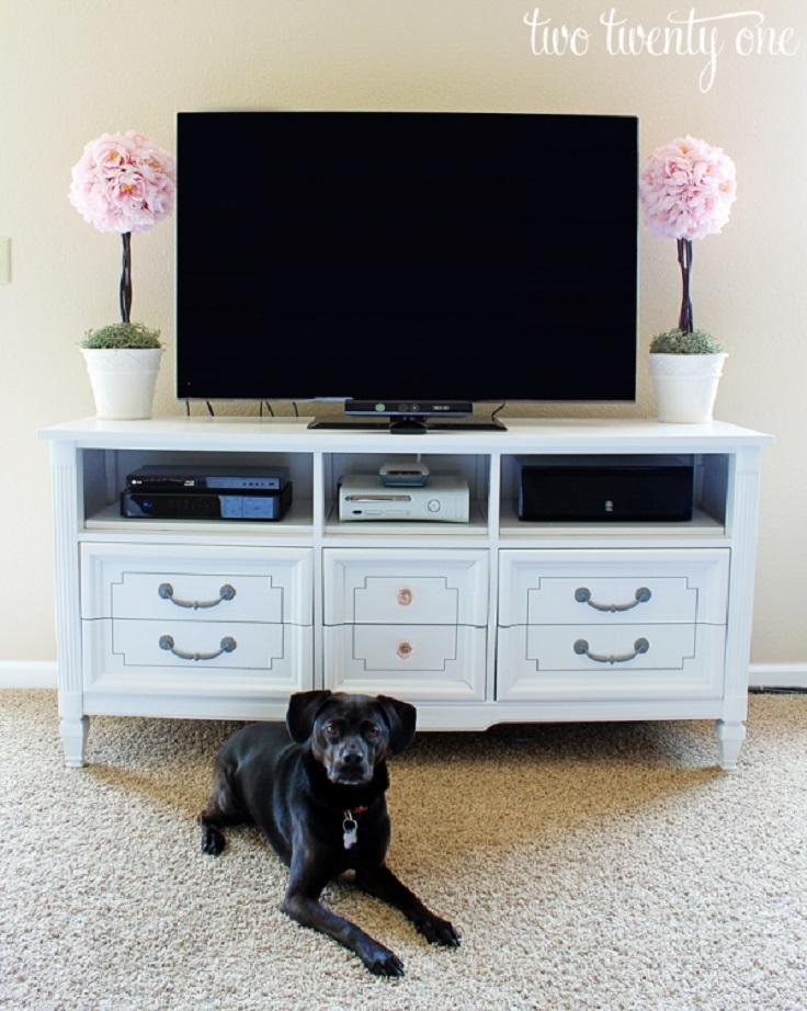 Dresser-Turned-TV-Stand