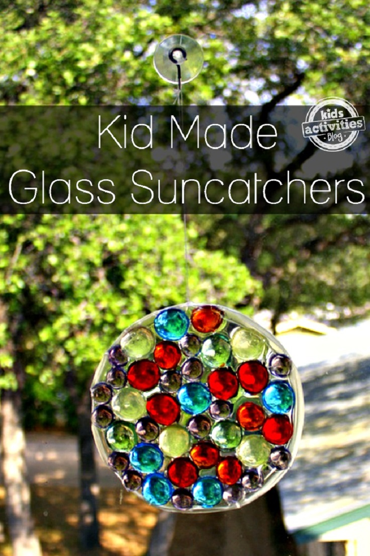 Top 10 cool diy suncatchers to make this spring for Glass jewels for crafts