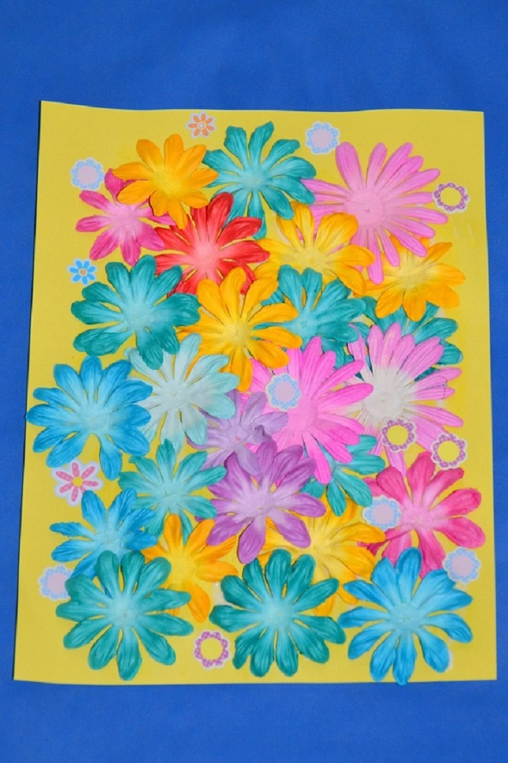 How-to-Make-a-Paper-Spring-Flower-Collage