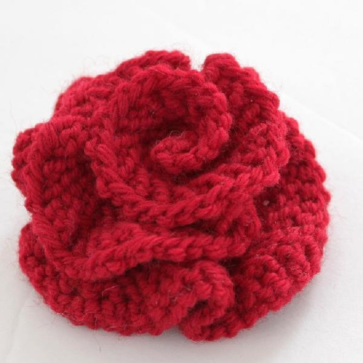 Knitted-Flower-Tutorial