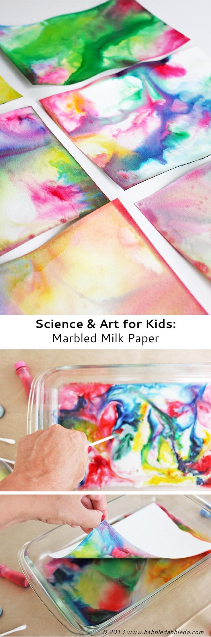 Marbled-Milk-Paper