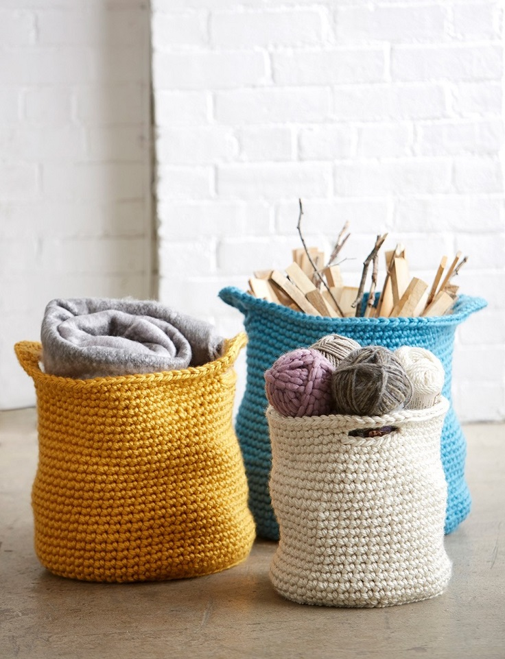 Mega-Bulky-Crochet-Baskets