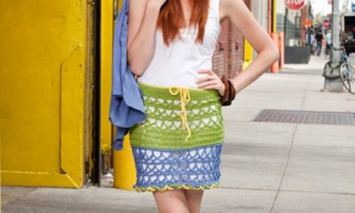 TOP 10 Fabulous Free Patterns For Crocheted Skirts   Top Inspired