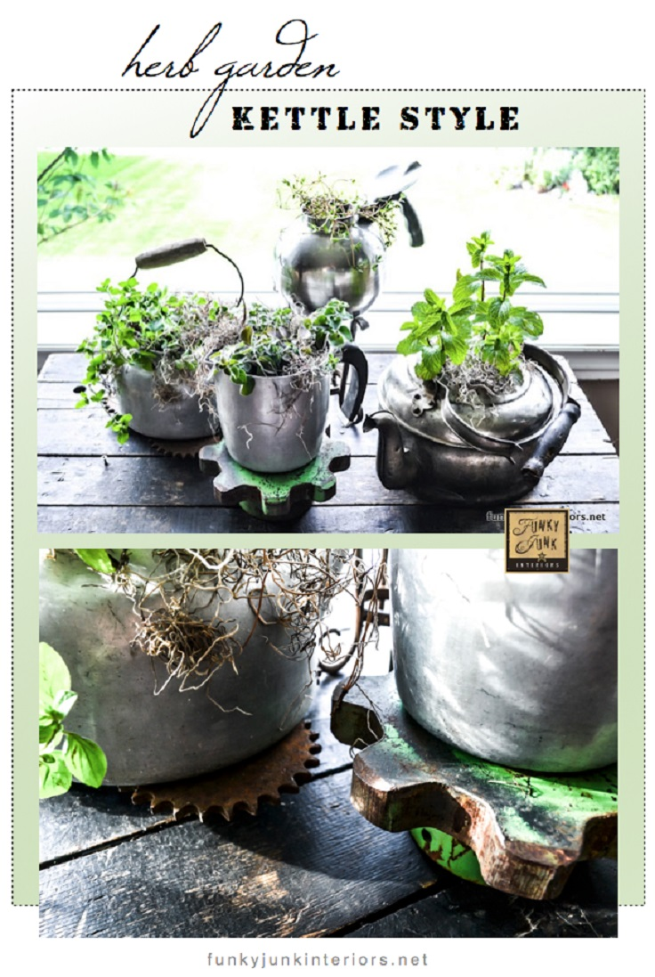 Old-Kettle-Herb-Planters