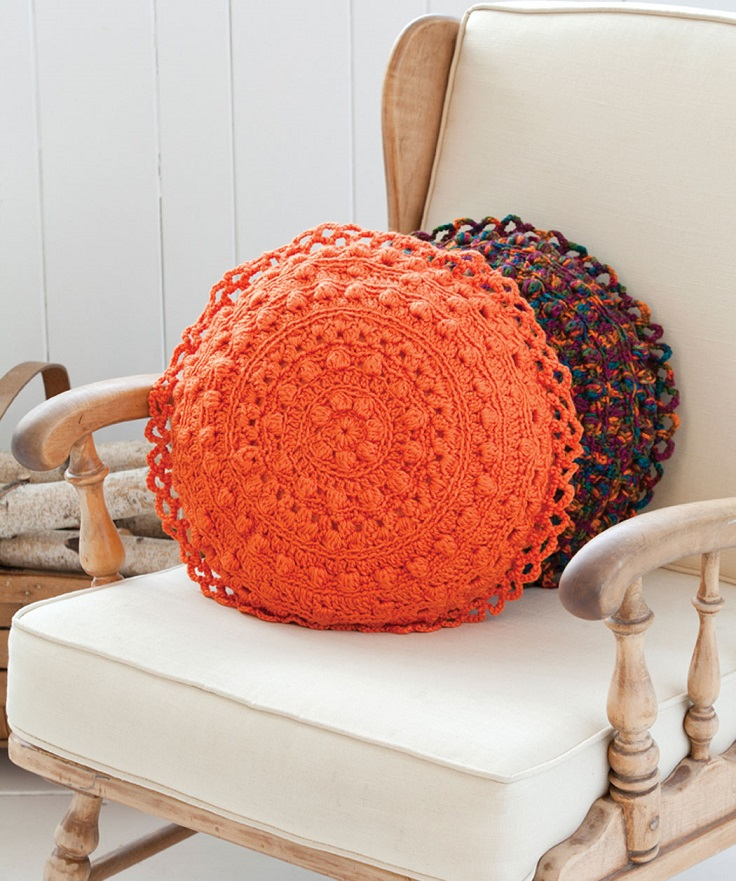 Free Crochet Patterns Pillow : TOP 10 Free Patterns for Gorgeous Crocheted Pillows