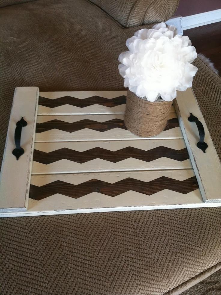 Shabby-Chic-Chevron-DIY-Wood-Tray
