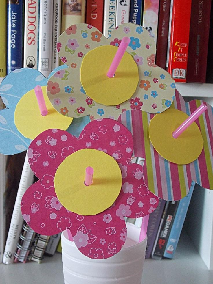 Spring-Flower-Paper-Craft