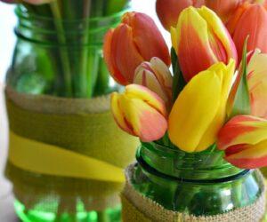 Top 10 Ways To Make Mason Jar Flower Arrangements