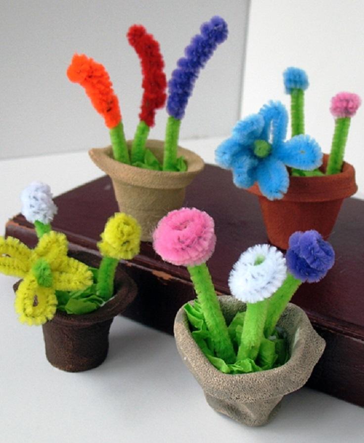 Styrofoam-Cup-Mini-Spring-Flower-Pots