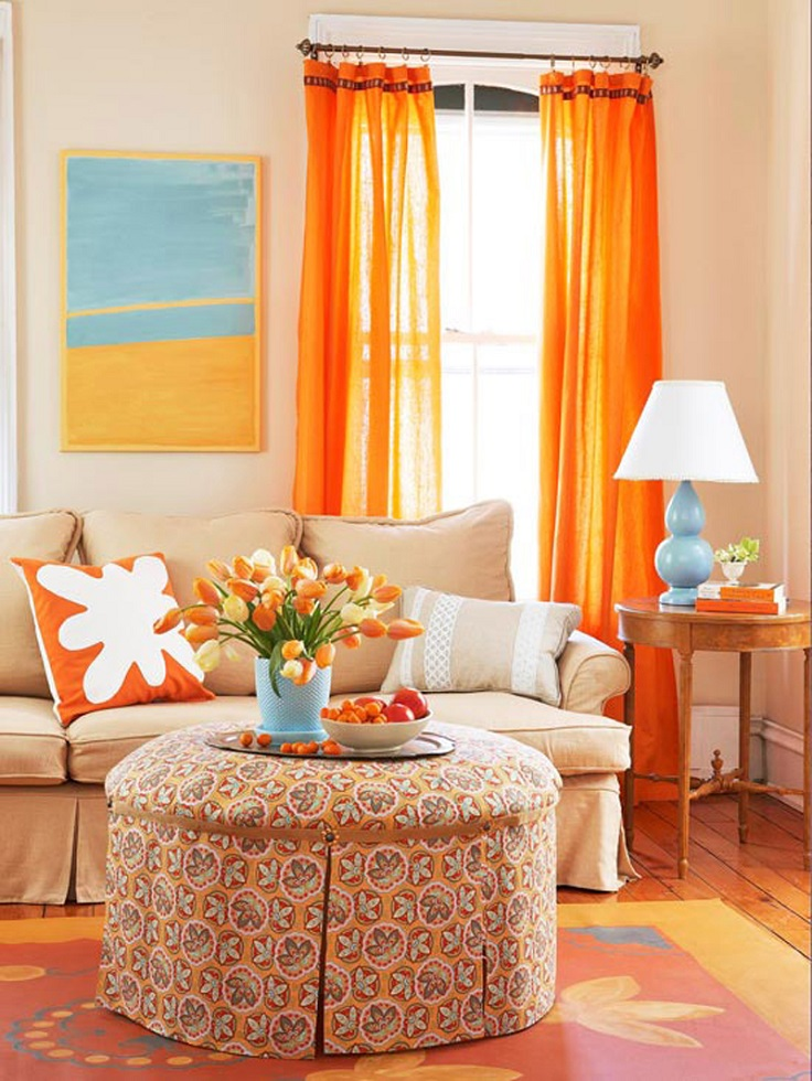 top 10 ways to add color to your living room this spring - How To Add Color To A Room
