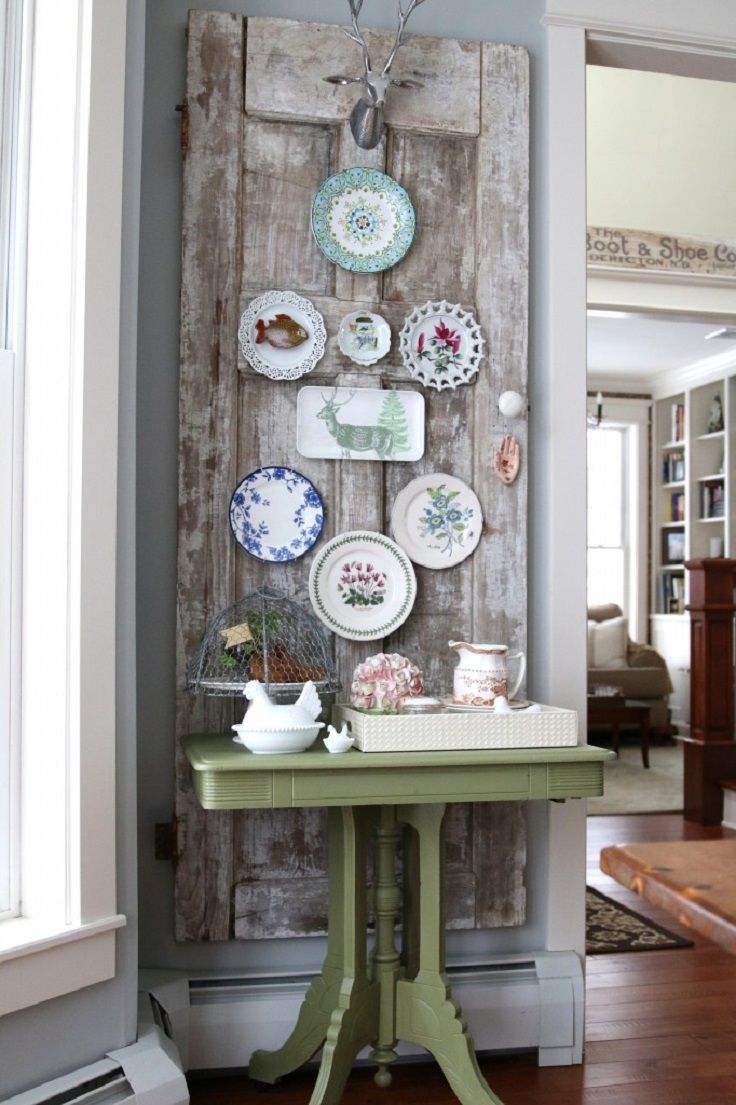 Home Decor Plates 10 Diy Vintage Inspired Home Decor Ideas