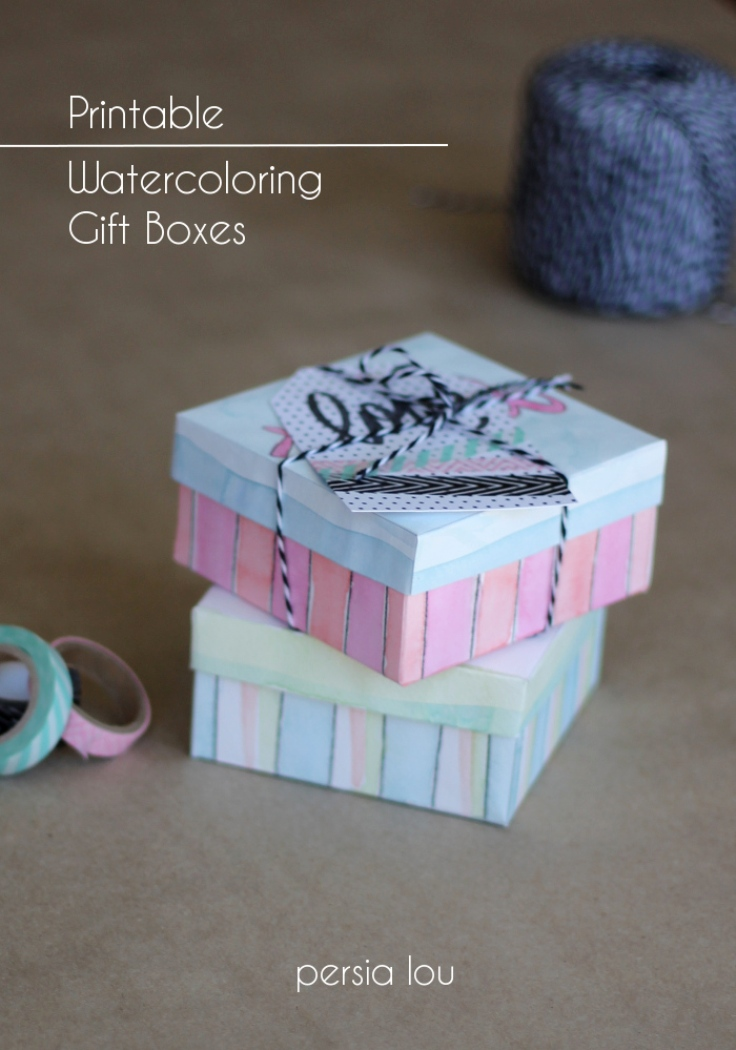 Watercoloring-Gift-Boxes