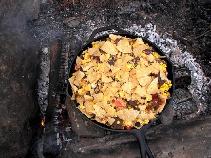 campfire-nachos
