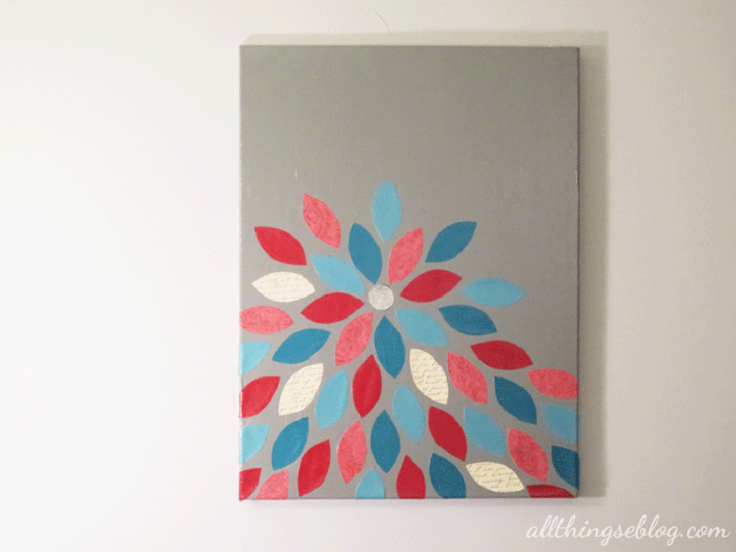 Top 10 diy simple wall art ideas for decorating your home top inspired - Wall arts images ...