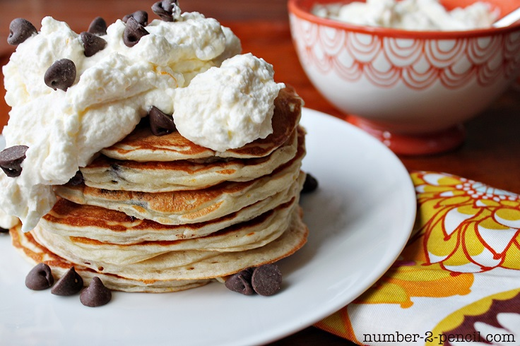 chocolate-chip-and-whip-cream-topping