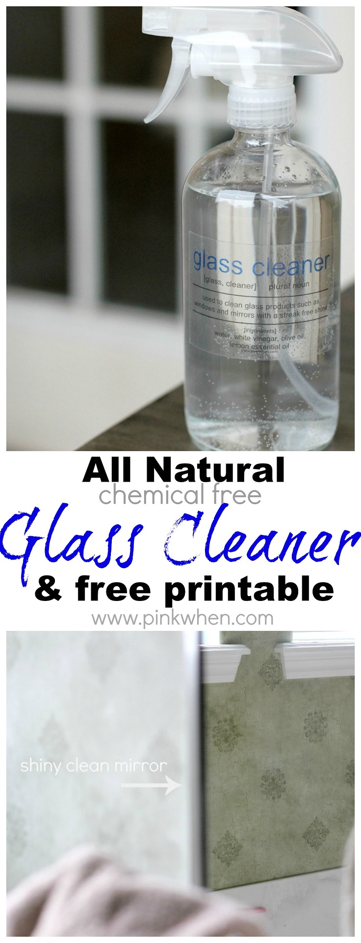 TOP 10 Safe Homemade Glass Cleaners