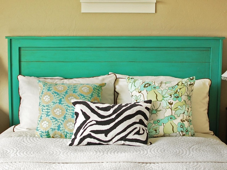 Top 10 cheap and chic diy headboard ideas top inspired Homemade headboard ideas cheap