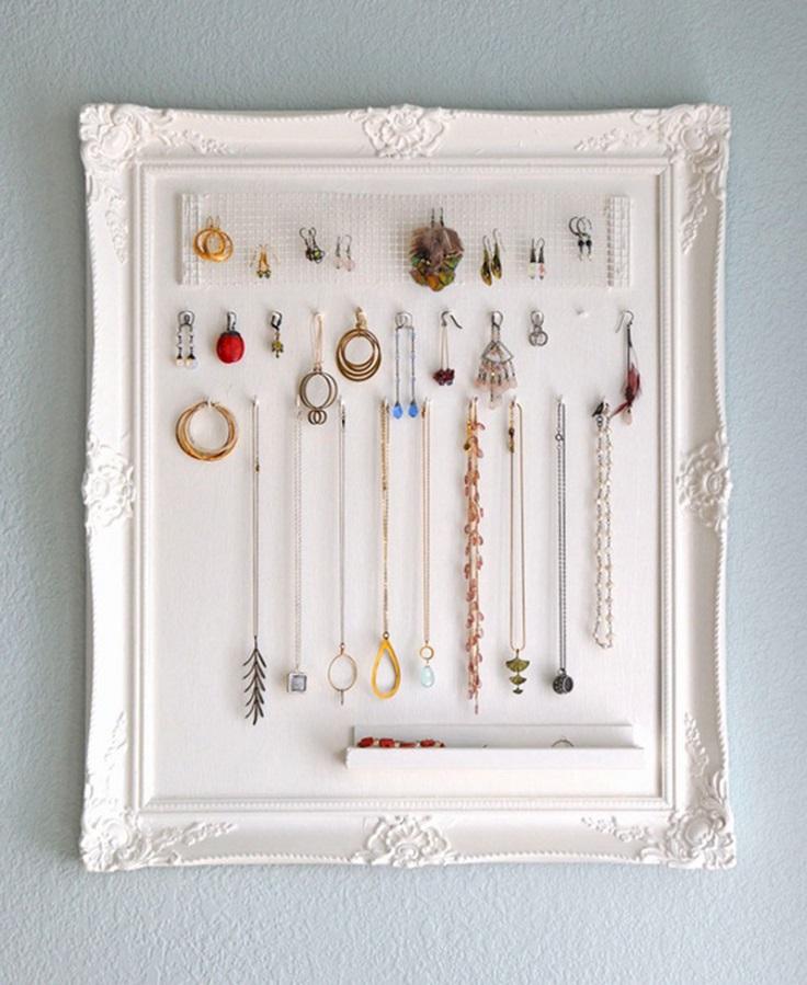 Top 10 Creative Ways To Storage Your Jewelry